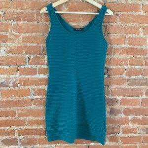 Green tank dress // Size S // Forever 21